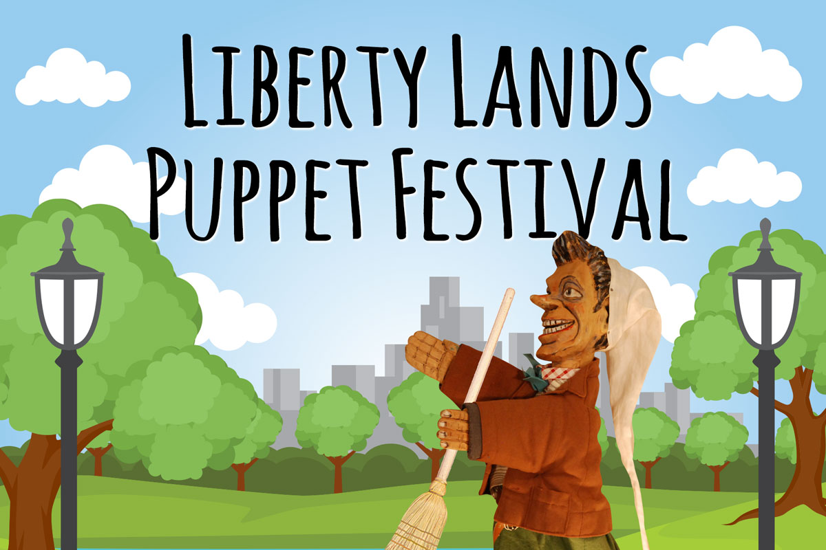 Company Aiello at Liberty Lands Puppet Festival