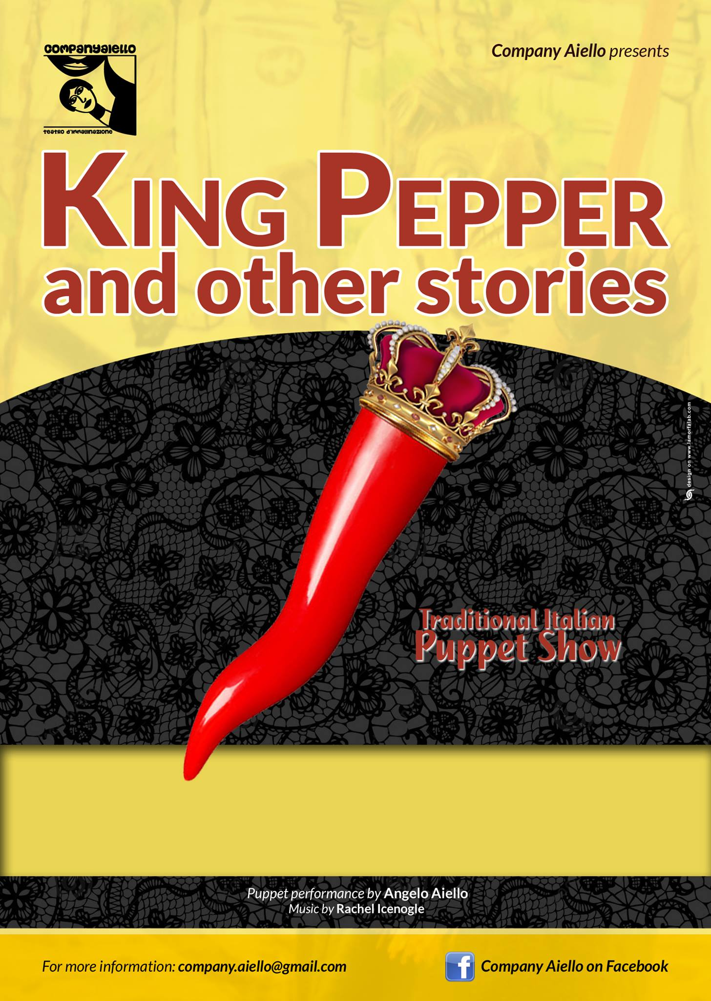 poster king pepper and Other Stories